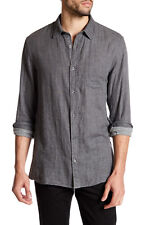 M350 NWT VINCE MELROSE DOUBLE WEAVE MEN SHIRT SIZE S $195