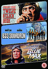 Twelve O' Clock High/633 Squadron/The Blue Max [DVD], DVD | 5039036041577 | New