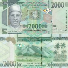 Guinea 2018 year 2000 franc Brand New Banknotes