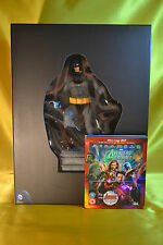 Batman Collection 4 Blu-Ray + 4 Dvd + 30cm resin Statue ITALIAN Edition Sealed