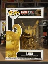 Marvel Studios 10th Anniversary - Loki Gold Chrome #376  Pop! Vinyl