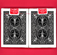 Bicycle 808 Black Back Rider Vintage Ohio Playing Cards