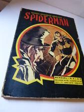 bandes dessinées insolites, spiderman  , N°8 ,1969 (car15)