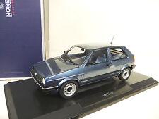 VW Volkswagen Golf 2 II CL blue Norev 1:18 NEW FREE SHIPPING worldwide