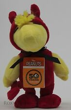 Peanuts Halloween Animated Woodstock Dress as a Devil Plush Stuffed Musical Toy