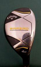 Callaway WarBird 4 Hybrid Regular Graphite Shaft Callaway Grip