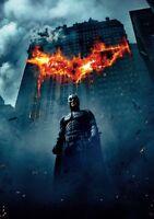 THE DARK KNIGHT Movie PHOTO Print POSTER Film 2008 Bruce Wayne Textless IMAX 002