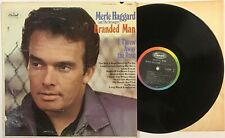 MERLE HAGGARD & The Strangers Branded Man vinyl LP VG ST-2789 Capitol Records