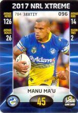 Parramatta Eels Single 2017 Season NRL & Rugby League Trading Cards