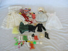 Vintage Mattel #3 Ponytail Barbie Doll Clothes Shoes Accessories Rare Ice Skates