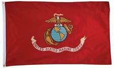 United States Marine Corps  2 Sided  Embroidered 3' x 5' Flag  Military Licensed