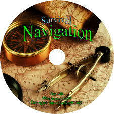 46 Navigation Books on CD Maps Compass Aviation Nautical Astronomical Survival
