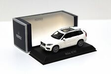 1:43 norev volvo xc90 White 2015 New en Premium-modelcars