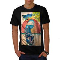 Wellcoda Lost Urban Japan Tokyo Mens T-shirt, Japan Graphic Design Printed Tee