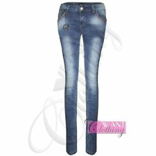 Unbranded Denim Stonewashed Plus Size Jeans for Women