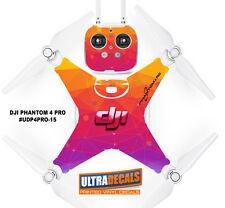 DJI Phantom 4 Pro Skin Wrap decalcomania Batteria CORPO Multicolore ultradecal