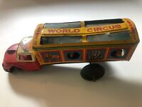 #Antique Tin Toy#Japanese TN Nomura Ford World Circus Truck Car Japan - Issues