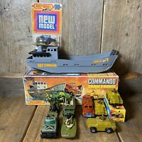 MATCHBOX Superfast G-9 COMMANDO TASK FORCE GIFT SET + Extras! 1970s Lesney