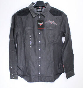Victory Motorcycles Women's Chambray Shirt - Size M PN 286439703