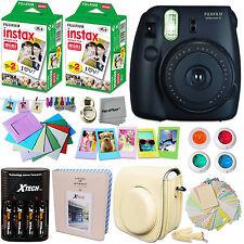 FujiFilm Instax Mini 8 Camera BLACK + Accessories KIT for Fujifilm Instax Mini 8
