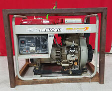 Yanmar Diesel 5.5kW Generator YDG 5500EV  Construction Household Agriculture