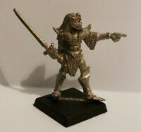 Warhammer Fantasy High Elf Elves Sword Swordsman Metal OOP 1987