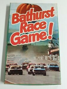 Vintage Bathurst Race Game Board Game - Game Card International 1978