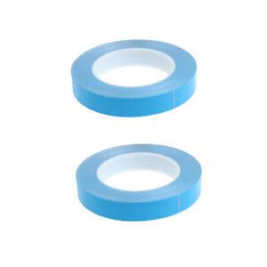 2x 20mm Doppelseitiges Wärmeleitendes Klebeband Für Kühlkörper LED IC