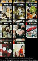 Kinetic 1 2 3 4 5 6 7 8 DC 2004 Complete Set Run Lot 1-8 VF/NM