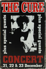 Concert Tin Sign: The Cure Concert