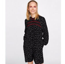 Zara Printed Star Print PlaySuit Jumpsuit. With Pocket Size XS S