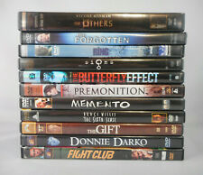 Lot of 11 Mystery Thriller Dvd Movies - Others, Forgotten, Signs, Ring, Memento