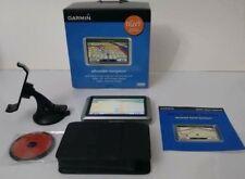 GARMIN Nuvi 200W GPS Navigation Kit In Original Box + Leather Case/Cover