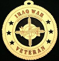 IRAQ WAR VET - OPERATION IRAQI FREEDOM ORNAMENT
