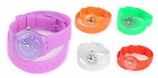 Quartz (Battery) Silicone/Rubber Strap Unbranded Watches