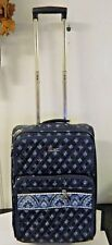 Vera Bradley Nantucket Rolling Wheel Travel Bag Suitcase