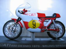 MOTO 1/24 COLLECTION DUCATI 450 DESMO 1970 BRUNO SPAGGIARI  MOTORCYCLE