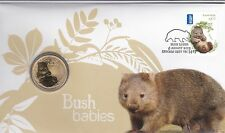 2013 PNC, Australian Bush Babies II - Wombat, with special unc $1 coin