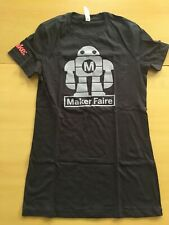 NYC Maker Faire Crew Ladies Size Medium T-shirt New Never Worn NWOT