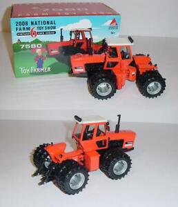 1/32 Allis Chalmers 7580 4WD Toy Farmer Tractor 2008 NIB!