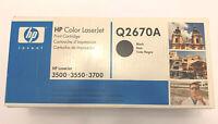 Q2670A 308A Genuine HP Black Toner Color LaserJet 3500 3500N 3550 3550N 3700