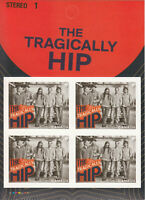 TRAGICALLY HIP = Canadian Record Artists = One BK Page of 4 Canada 2013 MNH VF