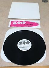 "Zoid Stealin' 1988 Private Press Metal AOR Promo Only 12"" EP Syracuse NY RARE"