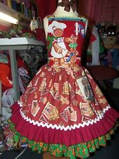 Ginger Cookies Christmas Dress  Size 5t/6