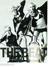 PUBLICITE ADVERTISING 116  2008  le parfum Burberry  The Beat & Agyness Deyn