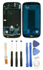 Silver White Mid Frame Front Housing + Tools for Samsung Galaxy S3 i535 R530