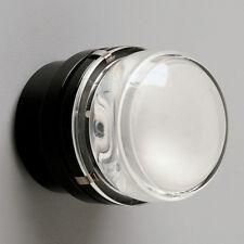 LED Wand-und Deckenleuchte Fresnel 1148/L schwarz von Oluce