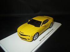 "LUXURY  Chevy  Camaro  SS  Coupè  ""2011""  (gelb)  1:43 in Vitrine !!"