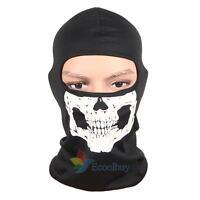 Motorcycle Bike Full Face Skull Scarf Mask Ultra Thin Warm Head Neck Balaclava