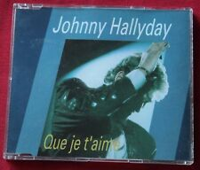 Johnny Hallyday, que je t'aime, Maxi CD 3 titres  - Holland